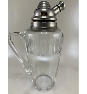 Hawkes Glass Crystal Cocktail Shaker with Handle