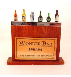Wonder Bar Bar Pick Spears with label, Mint!