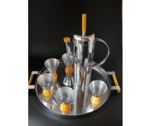 Revere Empire Butterscotch Cocktail Shaker set