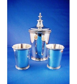 International Silver Cocktail Shaker Set