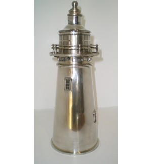 Rare 1927 Lighthouse Shaped Cocktail Shaker