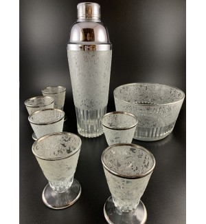 Paden City Complete Cocktail Shaker set