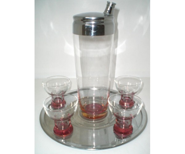 Rose bottom Cocktail Shaker set